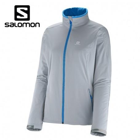 Veste softshell SALOMON Nova Jacket Gris Femmes