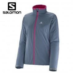 Veste softshell SALOMON Nova Jacket Bleu Gris Femmes