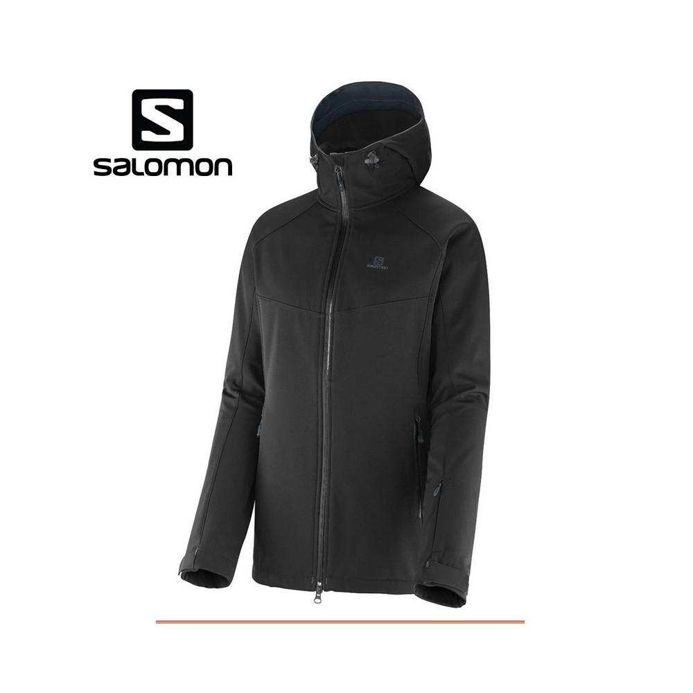 welbekend outlet te koop voorbeeld van Veste de ski SALOMON Snowtrip Premium 3.1 Noir Femmes - Sport a tout prix