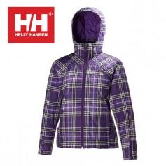 Veste de ski HELLY HANSEN JPN Check Violet Femmes
