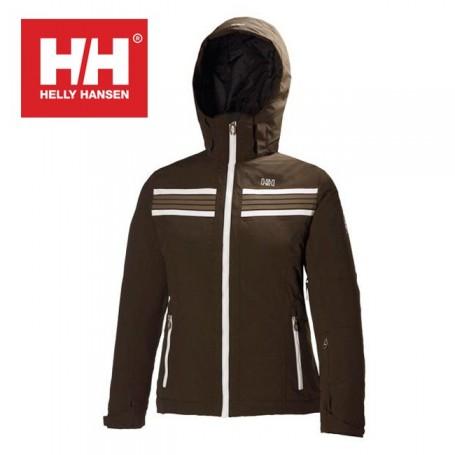 2553d4884ebd9 Veste de ski HELLY HANSEN Nova Marron Femmes - Sport a tout prix