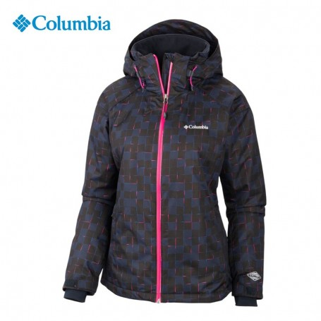 veste de ski columbia snow front noir femme sport a tout prix. Black Bedroom Furniture Sets. Home Design Ideas