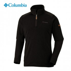 Maillot 1/4 zip COLUMBIA Harder Edge Noir Hommes