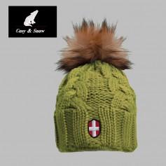 Bonnet de ski COSY & SNOW Eden Anis Unisexe