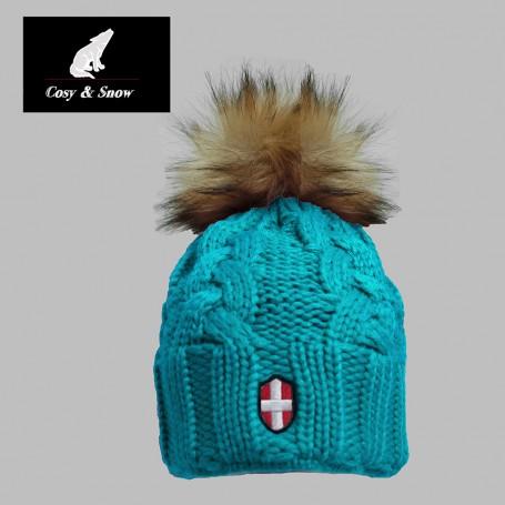 Bonnet de ski COSY & SNOW Eden Bleu Unisexe