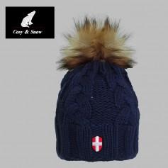 Bonnet de ski COSY & SNOW Eden Bleu marine Unisexe