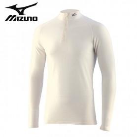 Maillot thermique MIZUNO Solid H/Z Ecru Hommes