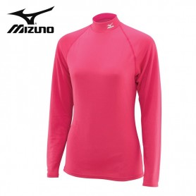 Maillot thermique MIZUNO Wool High Neck Rose Femmes