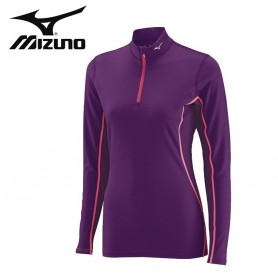 Maillot thermique MIZUNO Mid Weight H/Z Violet Junior