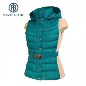 Doudoune sans manches POIVRE BLANC Bleu Femme