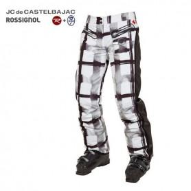 Pantalon de ski ROSSIGNOL JJC Deborah Blanc Femme