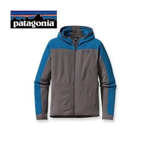 Veste polaire PATAGONIA Araveto Hooded Bleu Homme