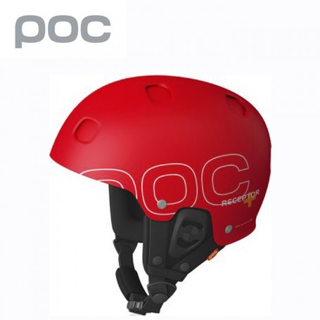 Casque de ski POC Receptor + Rouge Unisexe