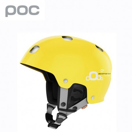 Casque POC Receptor Bug ajustable Jaune Arsenic