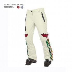 Pantalon de ski ROSSIGNOL JJC Kimo Crème Femme
