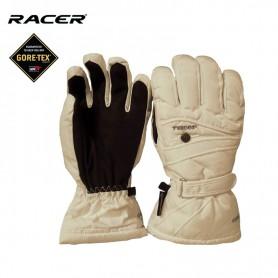 Gants de ski Gtx RACER Alissy Blanc Unisexe