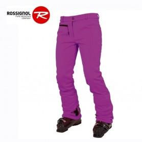 Pantalon de ski stretch ROSSIGNOL Diamond Violet Femme