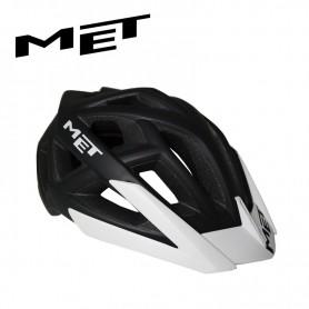 Casque de vélo MET Terra Noir/Blanc Unisexe