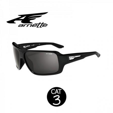 Lunettes Arnette Bluto Noir brillante UNISEXE cat.3
