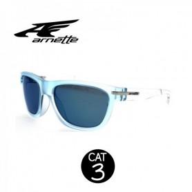 Lunettes ARNETTE Venkman Bleu Transp Unisexe Cat.3