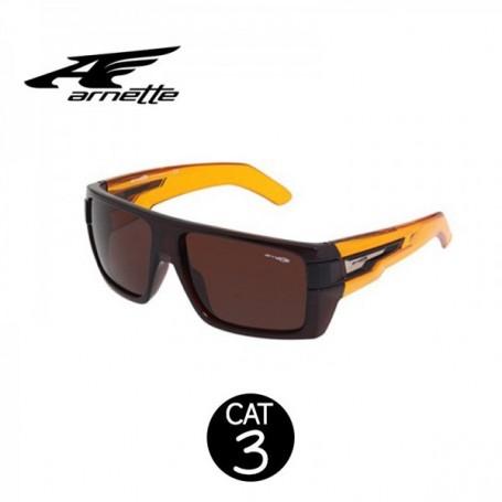 Lunettes ARNETTE Heavy Hitter Marron Unisexe Cat.3
