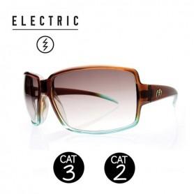Lunettes de soleil ELECTRIC Vol Brown Mint Femme CAT 3-2