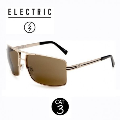 Lunettes ELECTRIC Ohm II Gold Homme Cat. 3
