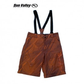 Short de slalom SUN VALLEY brun mixte