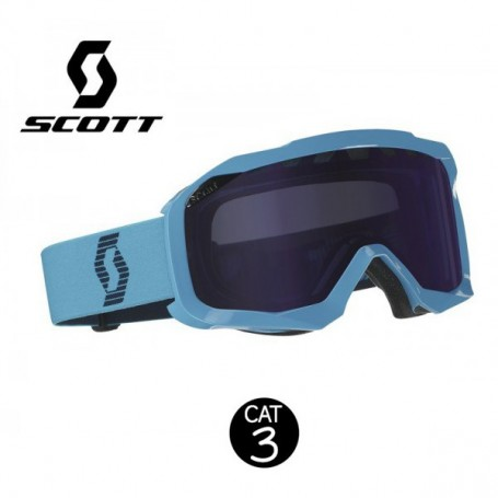 Masque de ski SCOTT Hustle bleu Cat.3 Homme
