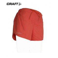 Short Craft Perf run Corail Femmes