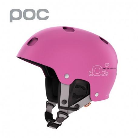 Casque de ski POC Receptor Bug Actinium Pink