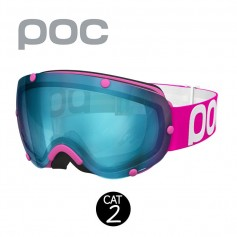 Masque de ski POC Lobes Rose Unisexe Cat.2