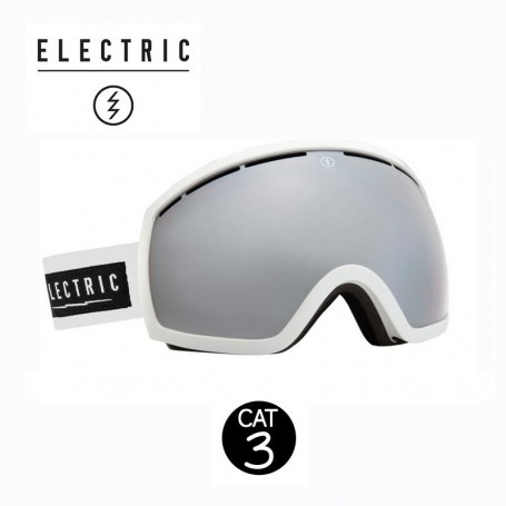 Masque de ski ELECTRIC EG2 Blanc Cat.3
