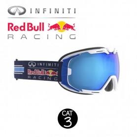 Masque de ski RED BULL Rascasse Blanc / Bleu Cat.3