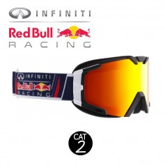 Masque de ski RED BULL Lesmo Noir / Blanc Cat.2
