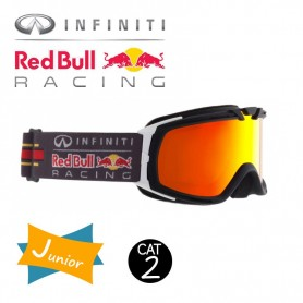 Masque de ski RED BULL Paddock Noir / Blanc Cat.2