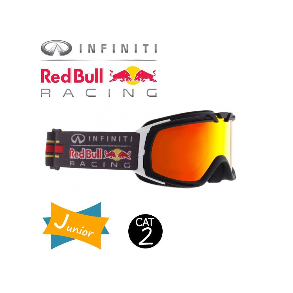 Masque de ski RED BULL Paddock Noir / Blanc Cat.2