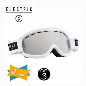 Masque de ski ELECTRIC EG1K Blanc Junior Cat.3