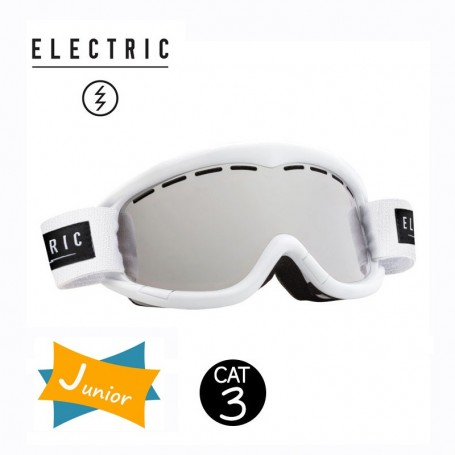 Masque de ski ELECTRIC EG1K Blanc Junior Cat.3