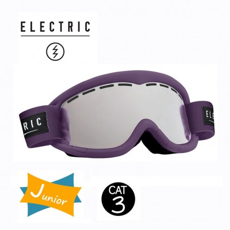 Masque de ski ELECTRIC EG1K Violet Junior Cat.3