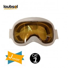 Masque de ski LOUBSOL Magic Cab Blanc Cat.1 Junior