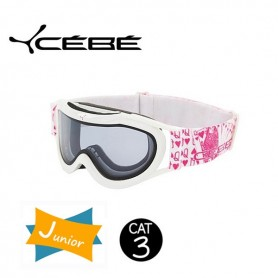 Masque De Ski Cebe Super Marwin JUNIOR White Iridium Cat. 3