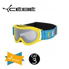 Masque De Ski Cebe Super Marwin JUNIOR Yellow Iridium Cat. 3
