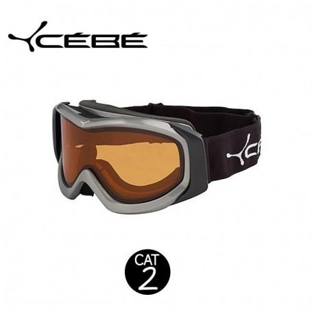 Masque de Ski Cébé OTG Series Gris Orange cat.2
