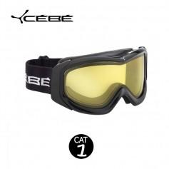 Masque de Ski Cébé OTG Series Noir Jaune cat.1