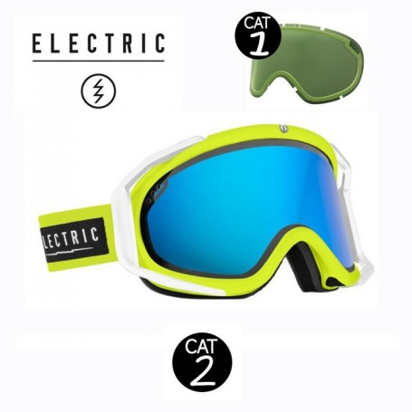 Masque de ski ELECTRIC RIG Nukus Cat.1/2