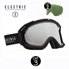 Masque de ski ELECTRIC RIG Noir Unisexe Cat.1/3