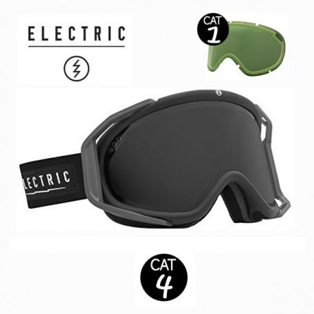 Masque de ski ELECTRIC RIG Noir Tropique Cat.1/4