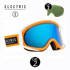 Masque de ski ELECTRIC RIG Orange Cat.1/2