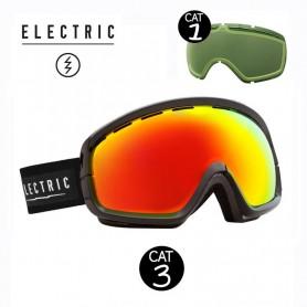 Masque de ski ELECTRIC EGB2S Noir Cat.1/3